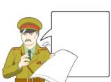 ソ連軍少佐のメモ用紙