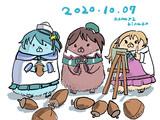 秋(ワンドロ201007)