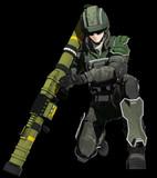 【MMD】グラント M31【地球防衛軍5】
