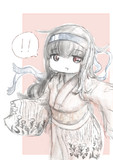 秋祭りで浴衣姿の初霜さんカワイイヤッター