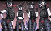 女戦闘員 モデル:オタマジャクシ