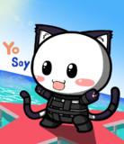 ポジティブ猫ヤミーくん  「コスプレ」