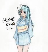 浦風さんとお絵描き練習3