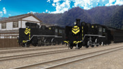 【モデル追加】C56ゼブラ塗装【MMD鉄道】