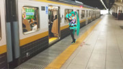 """""""ほよちゃん電車に乗る^^♪""""の巻"""