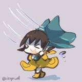 台風の中コロッケ買いに行った吹雪ちゃん