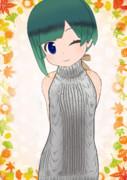 MMD セーター MikuMikuDance