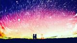 星が降る丘で