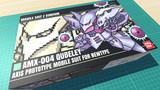 キュベレイ / 16色ドット絵ガンプラ箱絵風3D