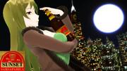 サンセット・サルサパリラ祭りだ!!月とおっぱい!
