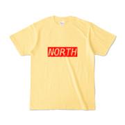 Tシャツ ライトイエロー near_NORTH