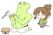 P「んぽ」 高森藍子「( ◠‿◠ )」