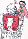 一寸法師とロボットマン