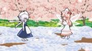 【動画制作感想】70・雪娘とダンスした春告げ精