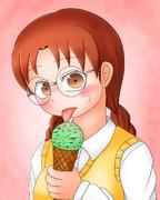 美雪さんとチョコミント