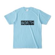 Tシャツ ライトブルー near_NORTH