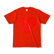 Tシャツ レッド GOOD_BOY_HEART