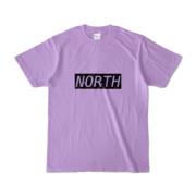 Tシャツ ライトパープル near_NORTH