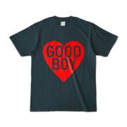 Tシャツ デニム GOOD_BOY_HEART