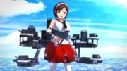 【MMD艦これ】軽巡洋艦 名取 ver.1.00【モデル配布】
