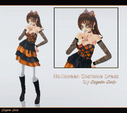 MMD - Halloween Costume Dress 2