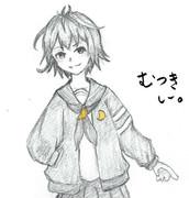 睦月さんとお絵描き練習6