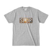 Tシャツ 杢グレー SPUR_Sunset
