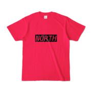 Tシャツ ホットピンク near_NORTH