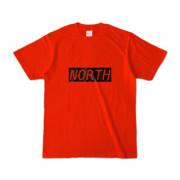 Tシャツ レッド near_NORTH