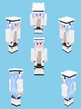 【Minecraft】琴葉葵:冬服ver.雪傘さん【Alex】