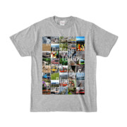 Tシャツ 杢グレー Forty_7_Colors
