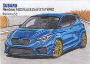 スバル WRC用新型ハッチバックスポーツ