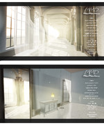 【配布】カーテンのある廊下(MMDステージ)