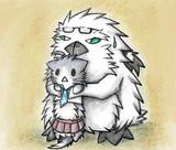 グー提督と伸び~る酒匂猫