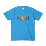 Tシャツ ターコイズ SPUR_Sunset