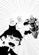 サイコロステーキ先輩の悲痛な運命を変えるため、少年ジャンプの英雄たちが助けにきたようです