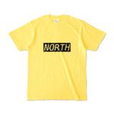 Tシャツ イエロー near_NORTH