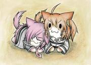 FGO:マシュ猫とぐだ子猫