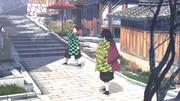 炭治郎くんと義勇さんの京都旅行