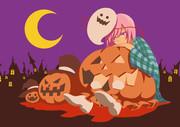 お菓子が欲しいかぼちゃ