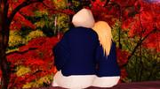 紅葉が映える旅館