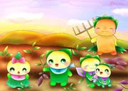 秋の芋掘り大会