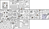 FC【女神転生Ⅰ】ヴァルハラの回廊:1F