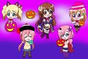 きららアニメ達のハロウィンパーティー