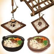 きりたんぽ鍋セットver1.0