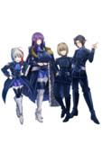 紫の騎士団のメンバー