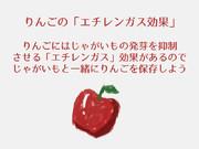 りんごのエチレンガス効果