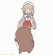 御蔵ちゃん(>ワ<)とボクノオシリ