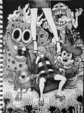 【Drawing】ゲゲゲの鬼太郎を描いてみた!/ art  / Timelapse