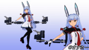 【MMDモデル配布】叢雲改二ver3.1